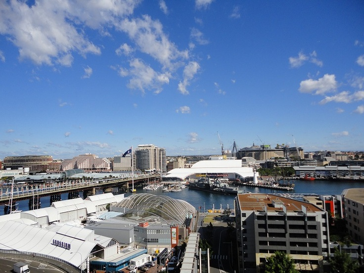 Looking Out Over Darling Harbour From Metro Apartments On Darling Harbour