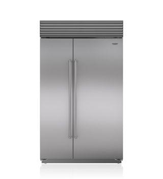 "Sub-Zero 48"" Built-In Side-by-Side Refrigerator/Freezer with Internal Dispenser BI-48SID/S"