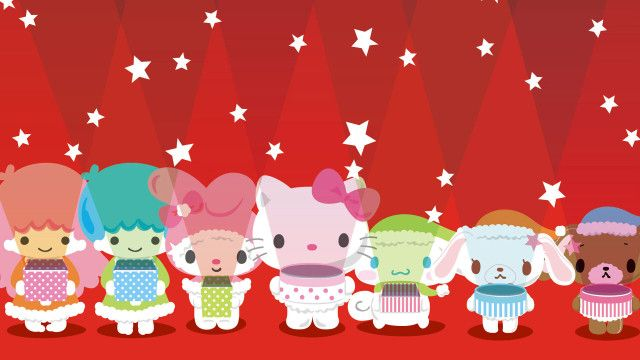 Hello Kitty Christmas Pictures Widescreen
