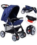 Foldable Baby Kids Travel Stroller Newborn Infant Buggy Pushchair Child ... - $79.85