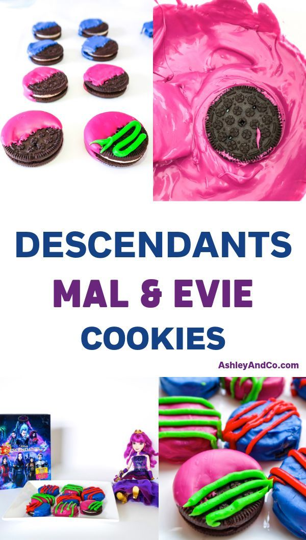 Personalised  Disney Descendents Mini Love Hearts Sweets Party Bag Sweets