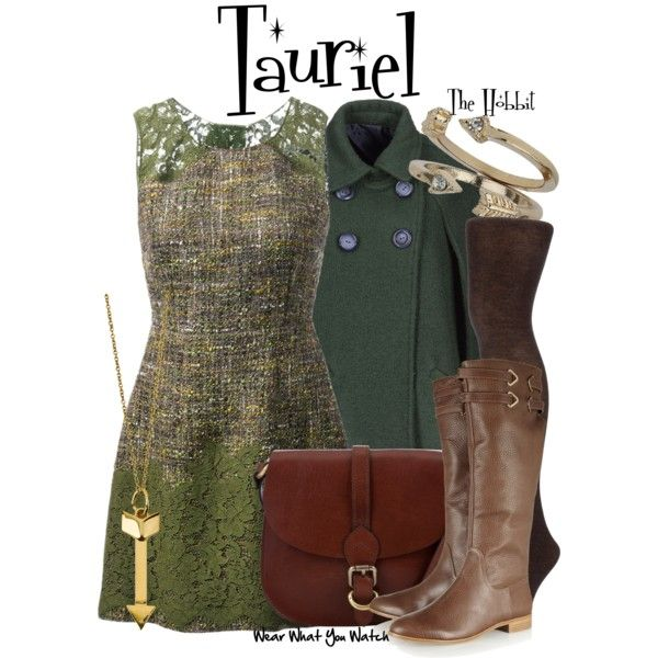 Inspired by Evangeline Lilly as Tauriel in 2013's The Hobbit: The Desolation of Smaug.