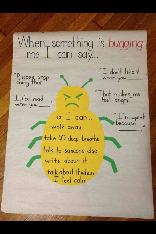 Classroom Conflict Management Poster. I LOVE THIS!