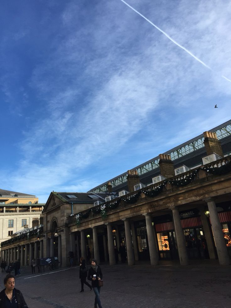 Covent Garden this morning.