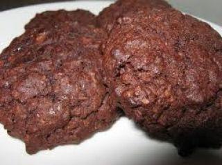 Biscuits moelleux à l\'avoine et au cacao (délicieux & faible en gras)