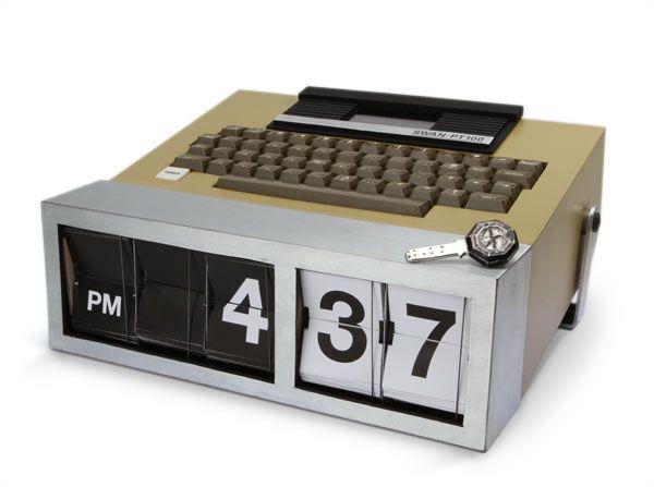 Dharma computronClocks 2050, Alarm Clocks, Hit Snooze, April Fools Pranks, Geek Things, Wake Up, Initials Alarm, April Fools Jokes, Dharma Initials