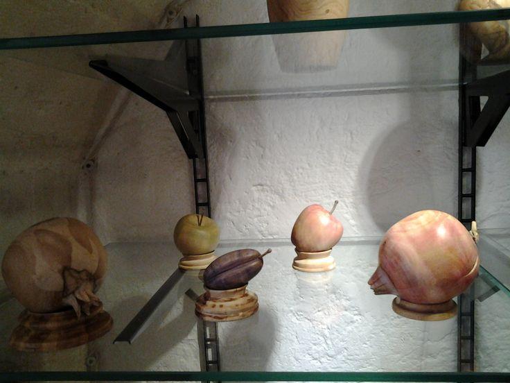 #frutti #legno #ulivo #dipinti a mano #art #oggetti