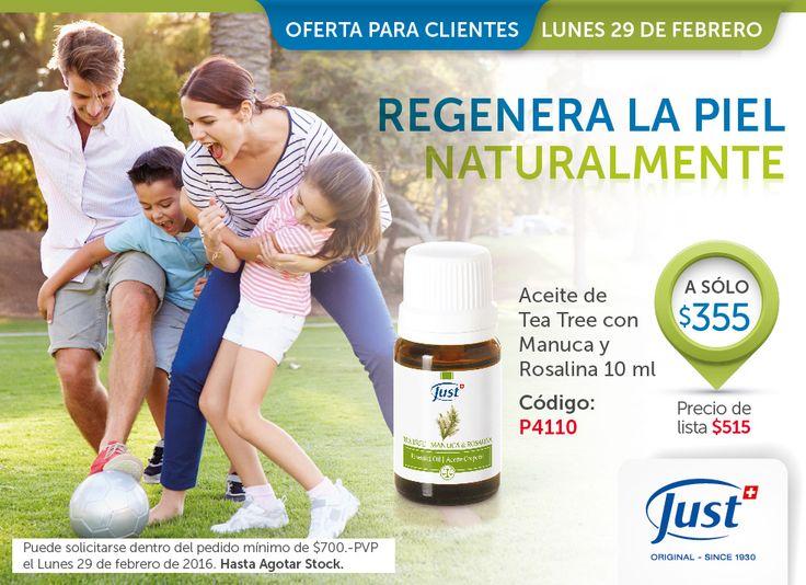 Aceite de Tea Tree 10 ml Ofta $355 L $515: (TEXTO EN PAGINA) + Utilizalo para la Higiene bucal, llagas y aftas. Descamaciones por caspa. Cuero cabelludo enrojecido por acné. Renovación celular por ampollas, irritaciones o escoriaciones en la piel. Higiene íntima en casos de cistitis, ardores, micosis y herpes. http://www.swissjustamerica.com/ar/es/producto/aceite-esencial-de-tea-tree