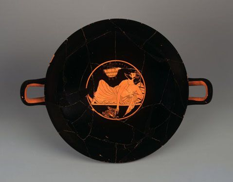 Red-figure kylix (Α1357)