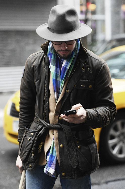 ive become obsessed with this style of jacket // barbour, hat, scarf, sweater, layers, preppy