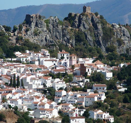 Gaucín en #Málaga #Andalucia