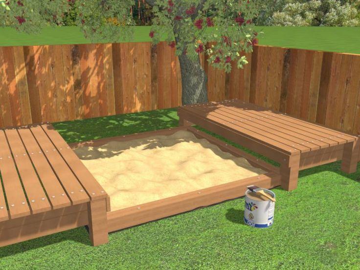 New Sandkasten bauen die leichteste Anleitung kreative Ideen DIY