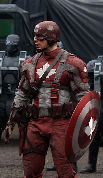 Real Captain Canuck | Costumes | Super hero costumes ...