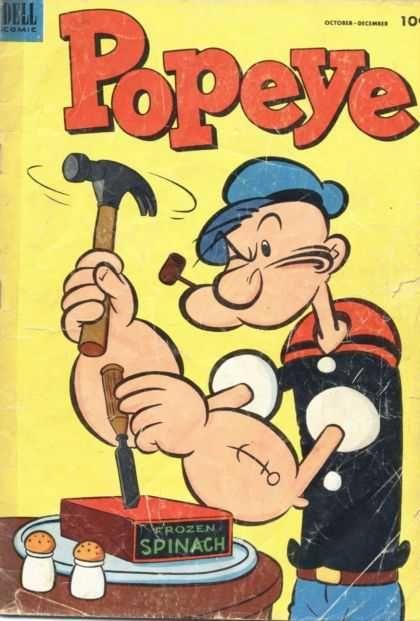 Popeye | Popeye 26 - Dell - Dell Comics - Popeye The Sailor Man - Sailor ...