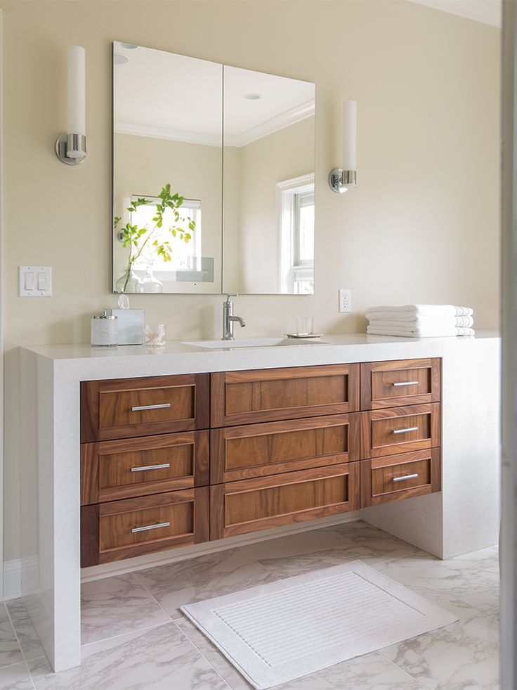 Better Homes And Gardens 2015 Innovation Home Plain Fancy Cabinetry Bathrooms Pinterest