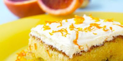 Mine Oppskrifter: Saftig appelsinkake med sjokolade