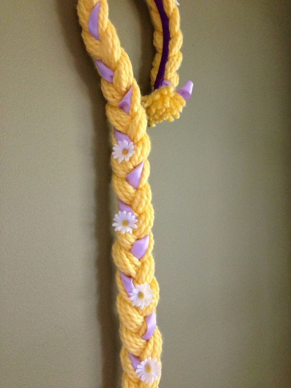 Rapunzel Inspired Headband with Details by DoodleGardenDesigns, $16.00