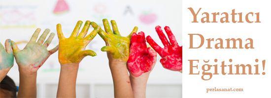 Perla Sanat'tan Yeni Bir Eğitim! İzmir'de Yaratıcı Drama Eğitimi!