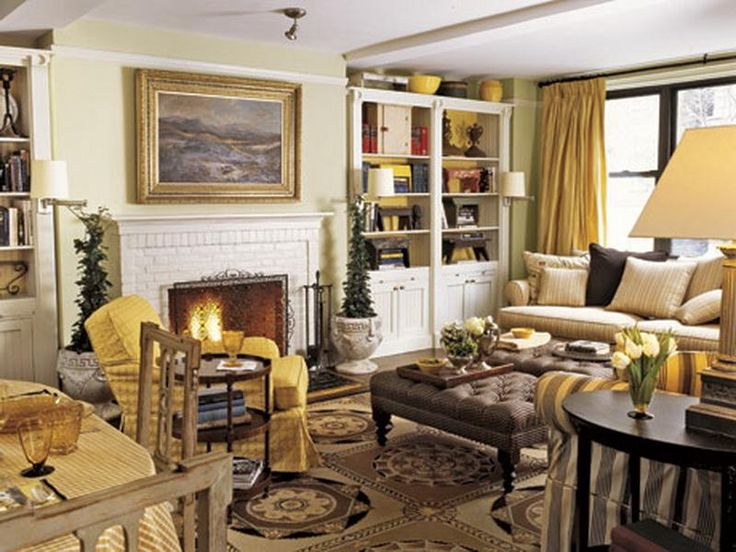 Merveilleux Decorating Ideas For Living Rooms U2013 How To Decorate A Living Room   Country  Living