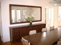 Timber Sideboard With Matching Timber Mirror