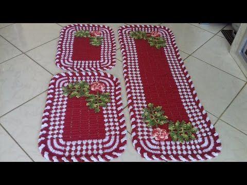 Folhagem Samambaia em Crochê para Aplicações com Cristina Coelho Alves - YouTube