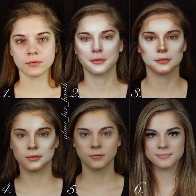 Maquillaje contour para pieles claras