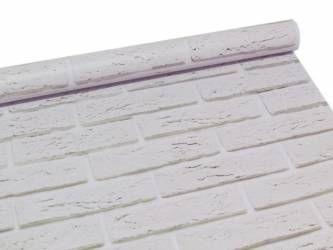 Papel de parede estilo tijolinho baiano branco