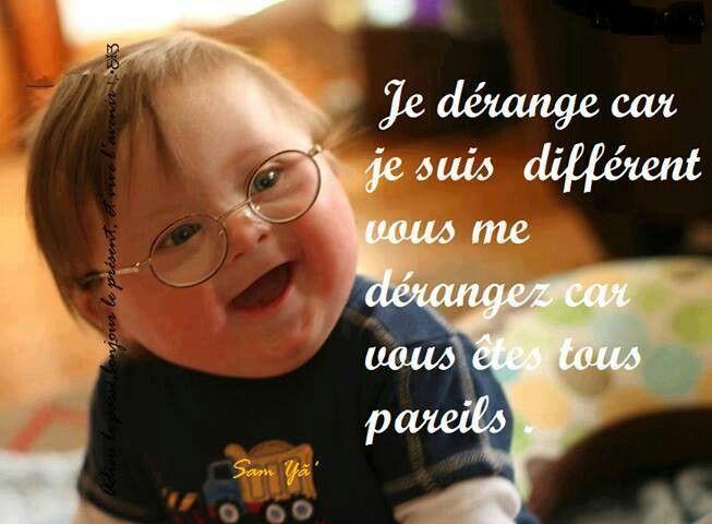 Des mots VRAIS (vu ou pensé par un enfant pas si différent que cela...) !!!