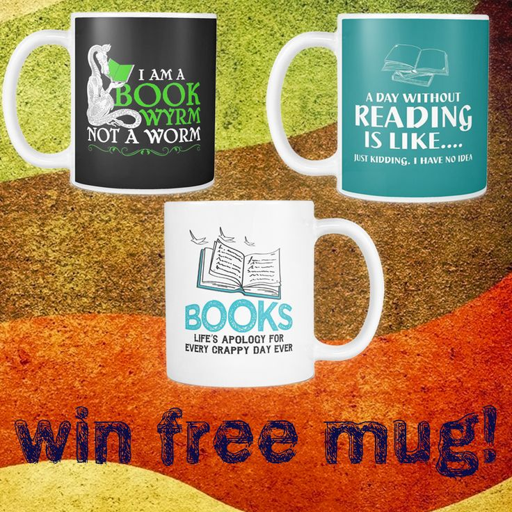 AwesomeLibrarians.com is giving away a mug of your choice! Enter your email to win (it's easy).