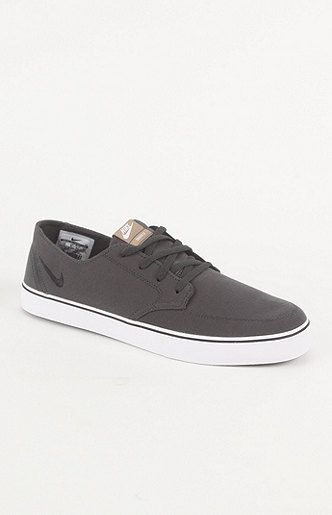 Nike SB Braata LR Canvas Gray Shoes 65.00 PACSUN