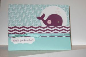 Oh Whale Stampin' Up! Sample