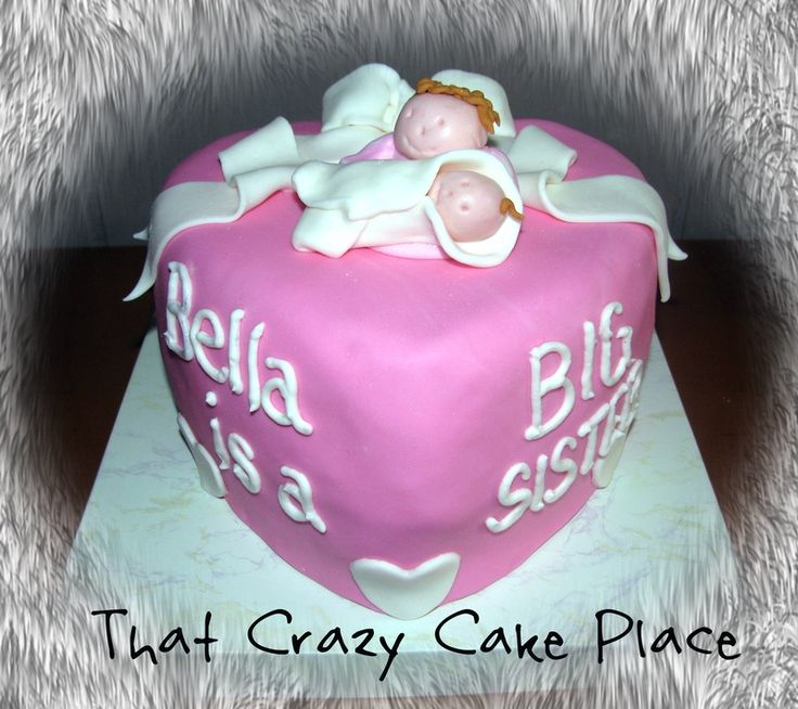 cake ideas for big sister at baby shower | Baby Shower ...