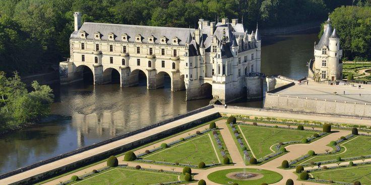 Le Chateau de Chenonceau paré de fleurs pour les grandes occasions !