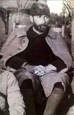 Mustafa Kemal'in Trablusgarp savaşından, az bilinen bir görseli.