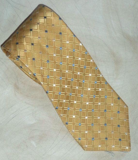 Hawes & Curtis London Necktie Fine Pastel Yellow by MushkaVintage3