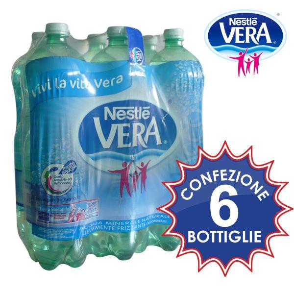Acqua oligominerale lievemente frizzante. Conf. 6 bottiglie da lt.1.5 a soli € 1,49!!