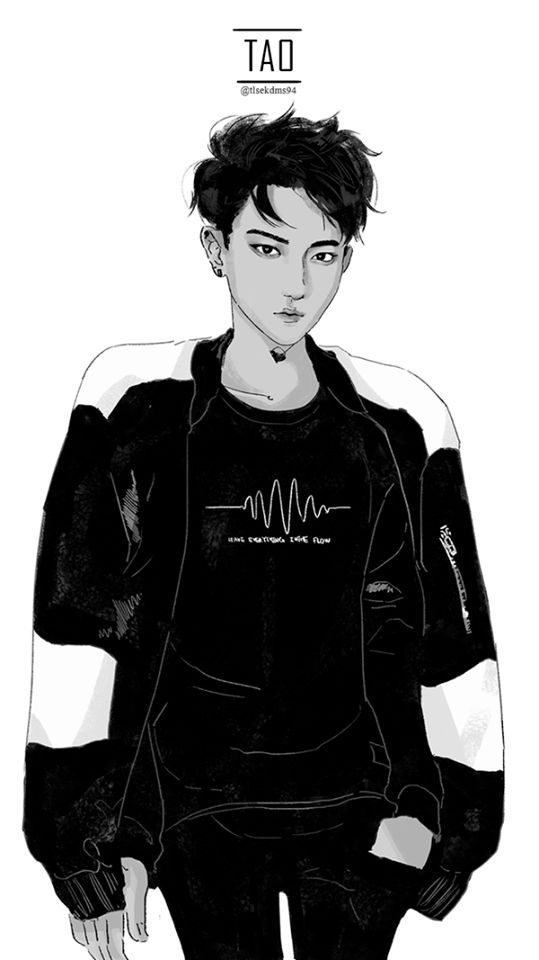 Exo: Tao; Fan Art. [K-pop]