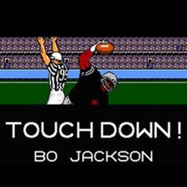 Tecmo Super Bowl -- Bo Jackson was sick!
