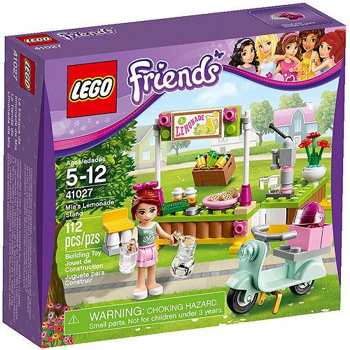 Lego Friends Mias Lemonade Stand Walmartcom 997 Great Little