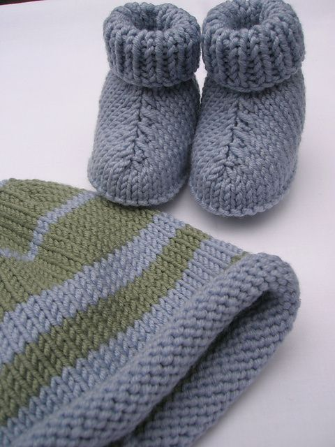 Pinterest Free Knitting Patterns For Baby Booties : 17 Best ideas about Knit Baby Booties on Pinterest Knitted baby booties, Kn...
