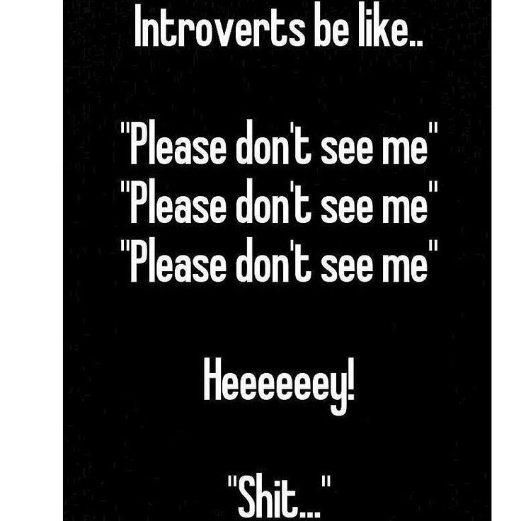 #introvertproblems