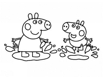 Blog sobre: maternidade, bebês, criança, festa, decoração, beleza e muito mais de uma mãe de primeira viagem. http://www.maternarparasempre.com.br/2015/09/desenhos-para-colorir-peppa-pig.html