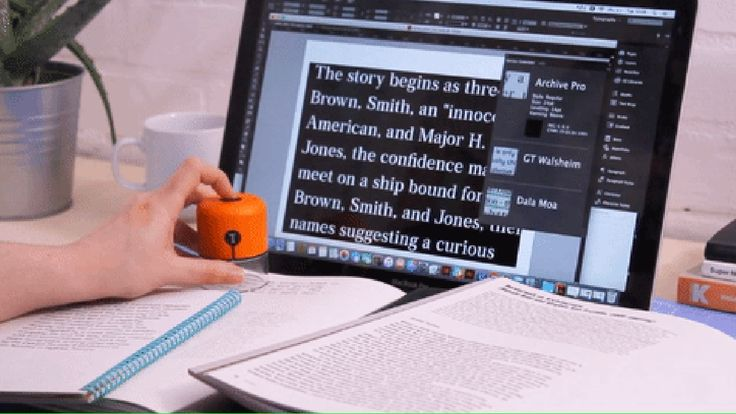 This student-made gadget can detect fonts and capture colors