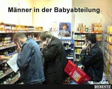 Männer in der Babyabteilung   DEBESTE.de, Lustige Bilder, Sprüche, Witze und Videos