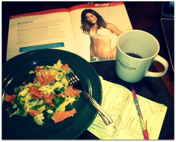 Meal Planning for Body Revolution fitness plan (week one ...
