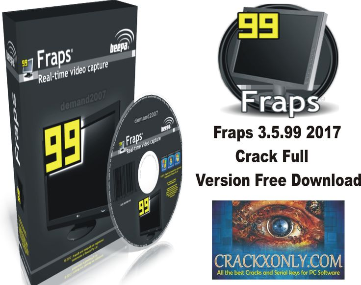 fraps free full version windows 10