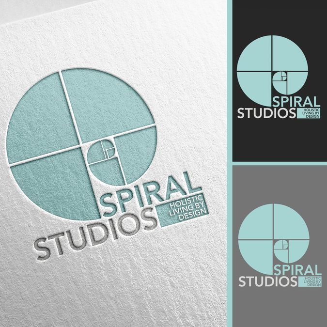 my interior design business spiral studios is growing up and expanding and - Interior Design Logo Ideas