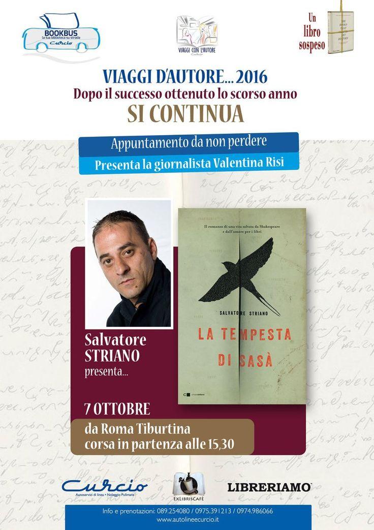 EX LIBRISospeso Cafè (@michelegentile7)   Twitter ...ed ora La Tempesta di Sasà @striano18 @chiarelettere  @Libreriamo #viaggiconlautore 7ottobre15,30 Tibus 17 #Roma #Napoli @ValentinaRisii