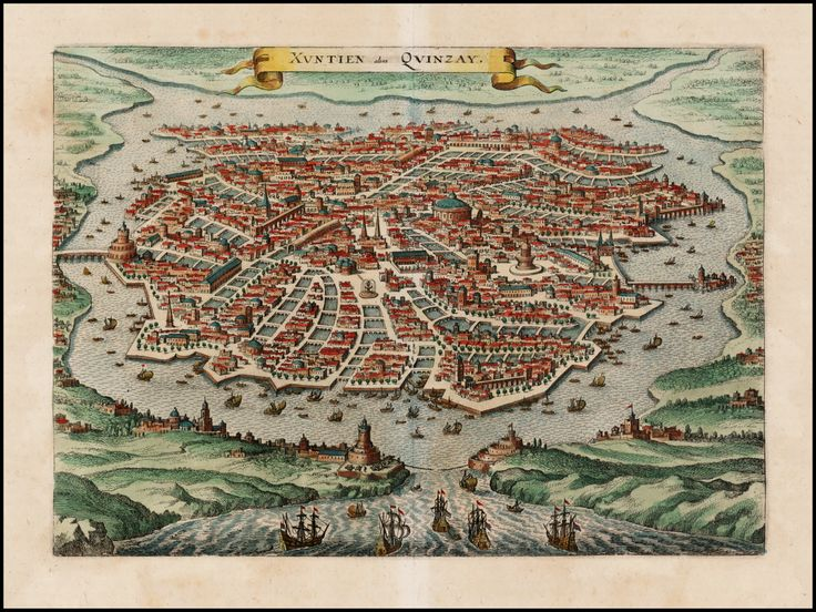 The 28 best maps images on pinterest old maps antique maps and globes title xuntien alias quinzay map maker matthaus merian place date gumiabroncs Image collections