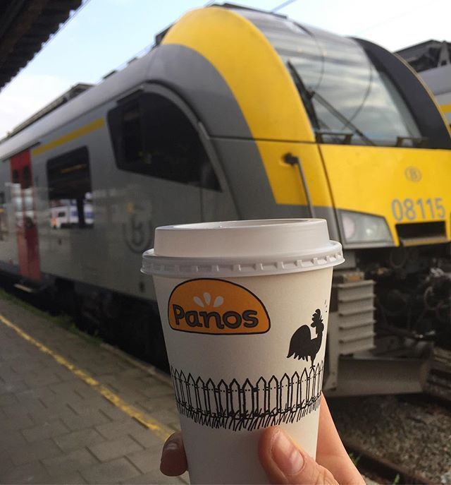 """Cappuccino and pain au chocolat to start your day @panosbelgium #cappuccino #coffee #caffeine #painauchocolat #chocolate #pastry #delicious #breakfast #morning #weekend #train #funtimes #brussels #belgium #travel #travelgram #food #foodie #foodgram #wanderlust #passionpassport #sncb"" by @j_uly5. #fslc #followshoutoutlikecomment #TagsForLikesFSLC #TagsForLikesApp #follow #shoutout #followme #comment #TagsForLikes #f4f #s4s #l4l #c4c #followback #shoutoutback #likeback #commentback #love…"